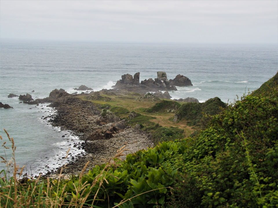 Landzuge am Cape Foulwind