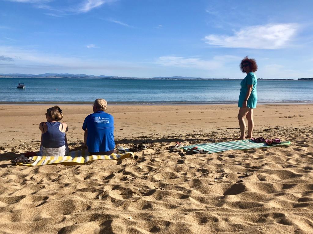 Am Parakerake Beach beim CP