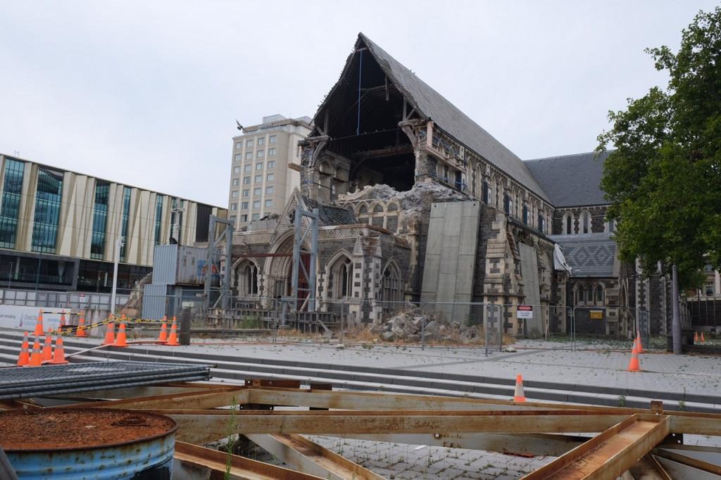 Kathedrale Christchurch heute