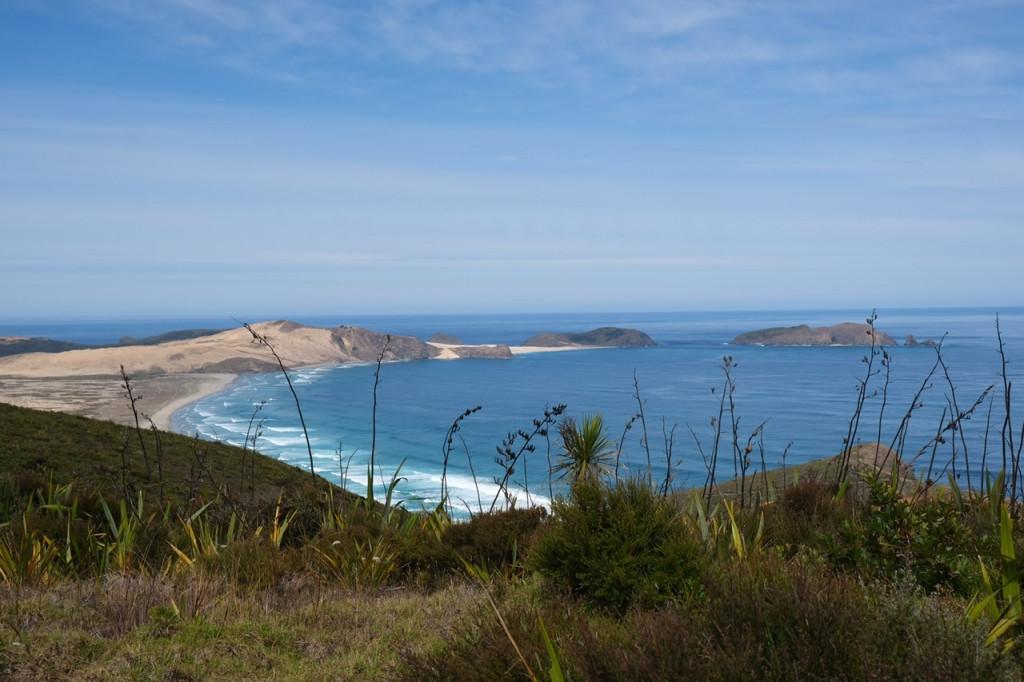 Ausblick vom Cape Reinga Tasman Sea