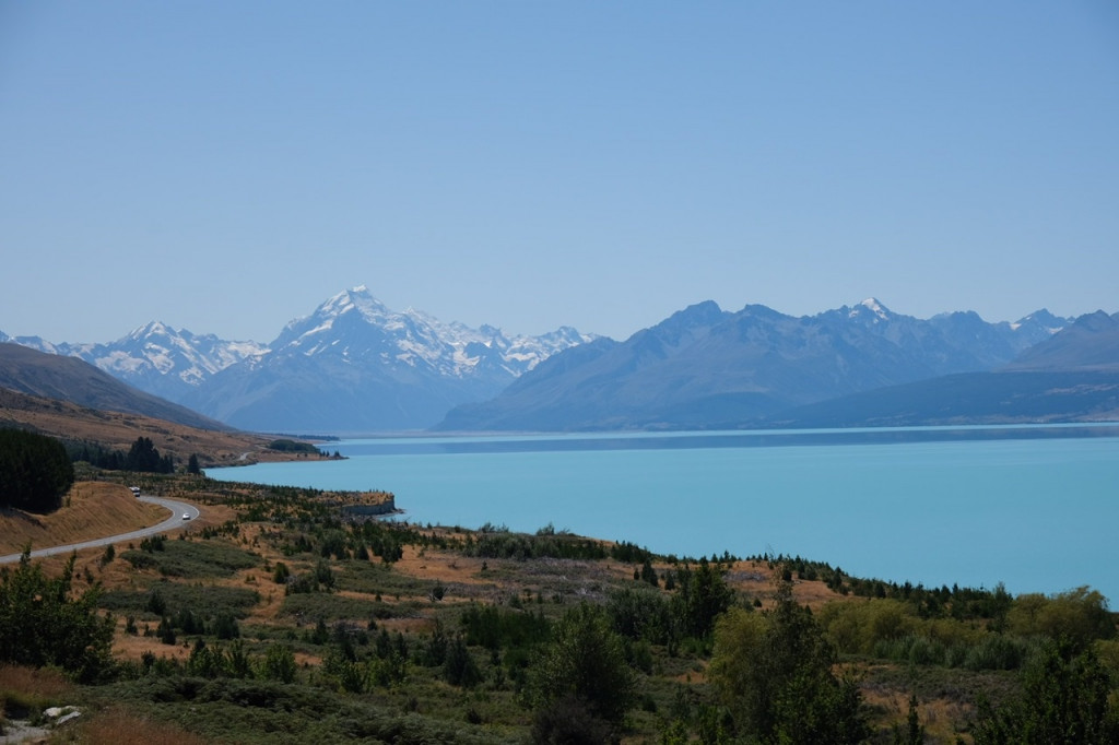 Mount Cook und Lake Pukaki