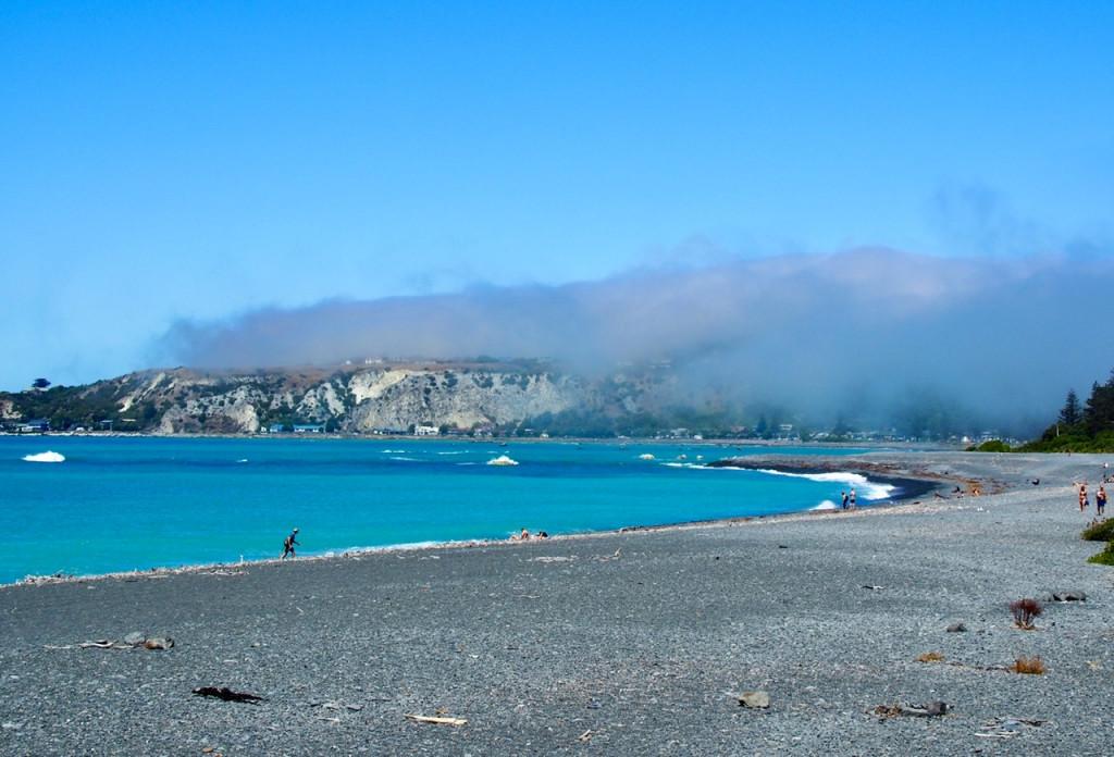 Nebel über der Wal-Bucht
