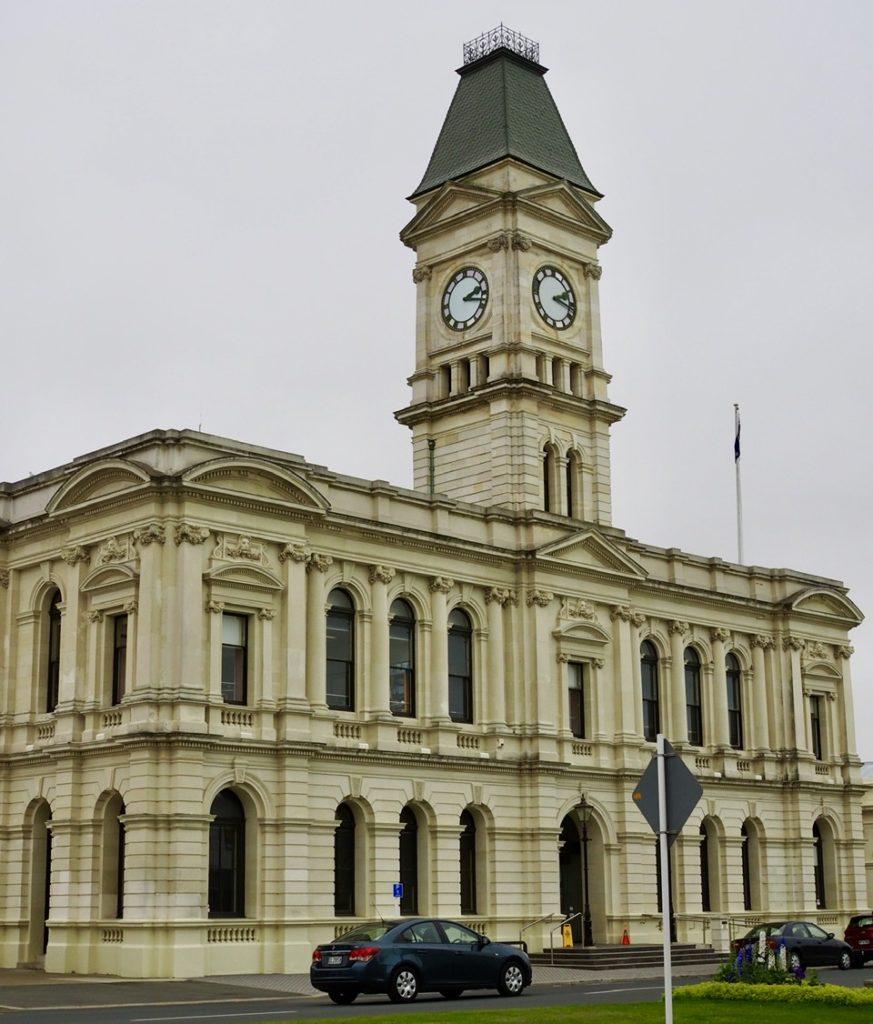 Eins der vielen viktorianischen Gebäude