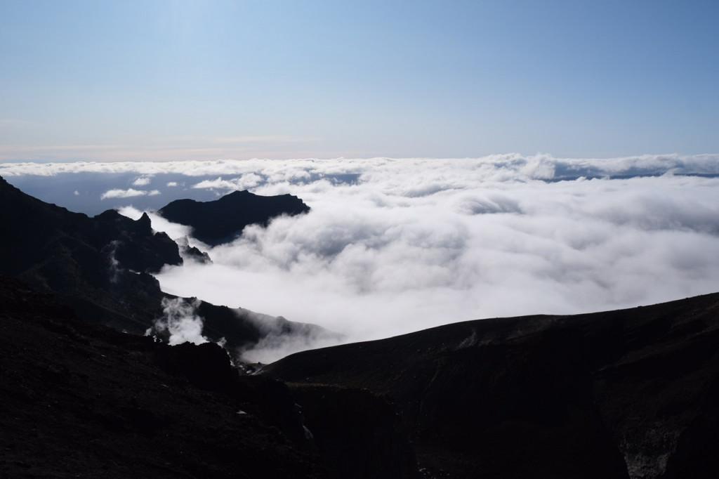 Aussicht vom Red Crater
