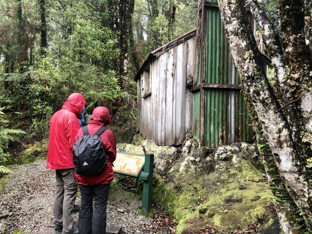 Alte Goldgräber-Hütte bei Ross