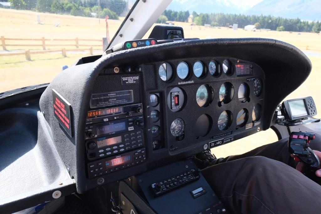 Cockpit Helikopter