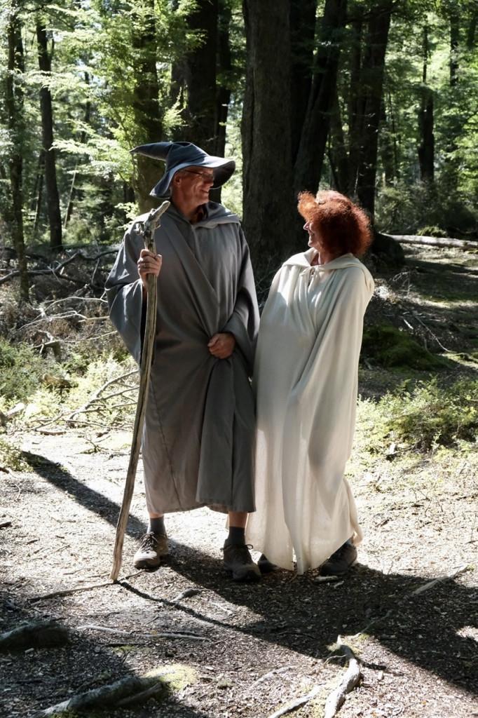 Galadriel und Gandalf der Graue