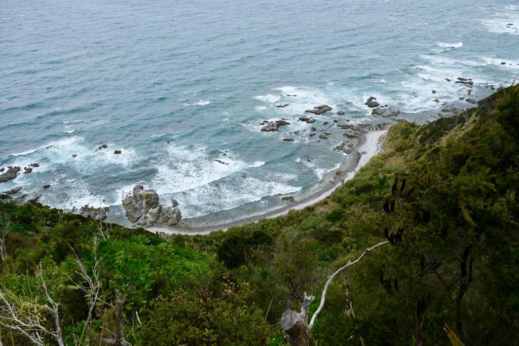 Wanderweg an den Mangawhai Cliffs