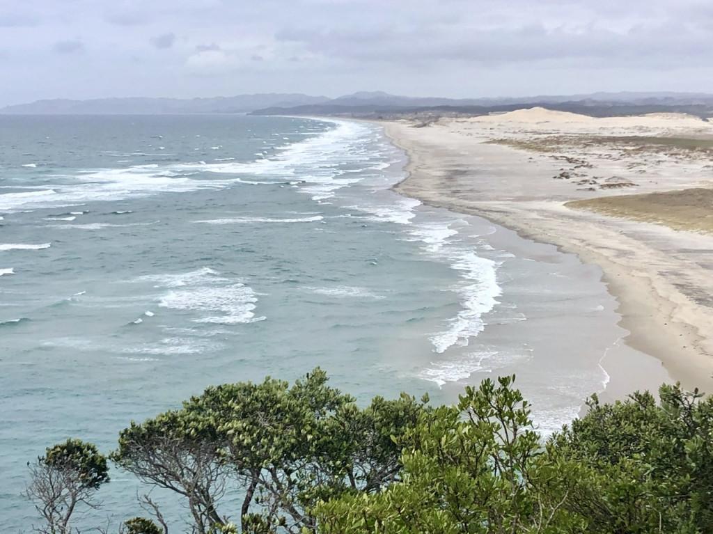 Bucht bei Mangawhai Heads