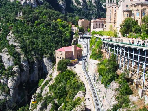 Zahnradbahn Cremallera de Montserrat