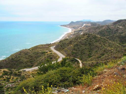 Mittelmeerküste bei Carboneras/Andalusien