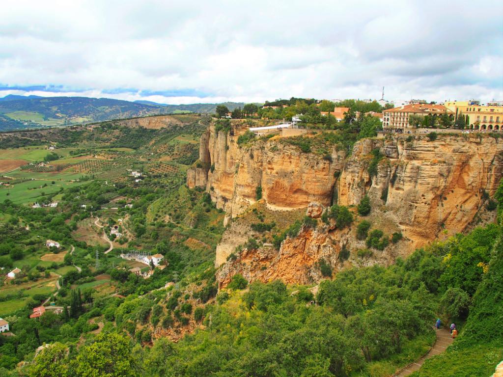 Der Felsstock von Ronda