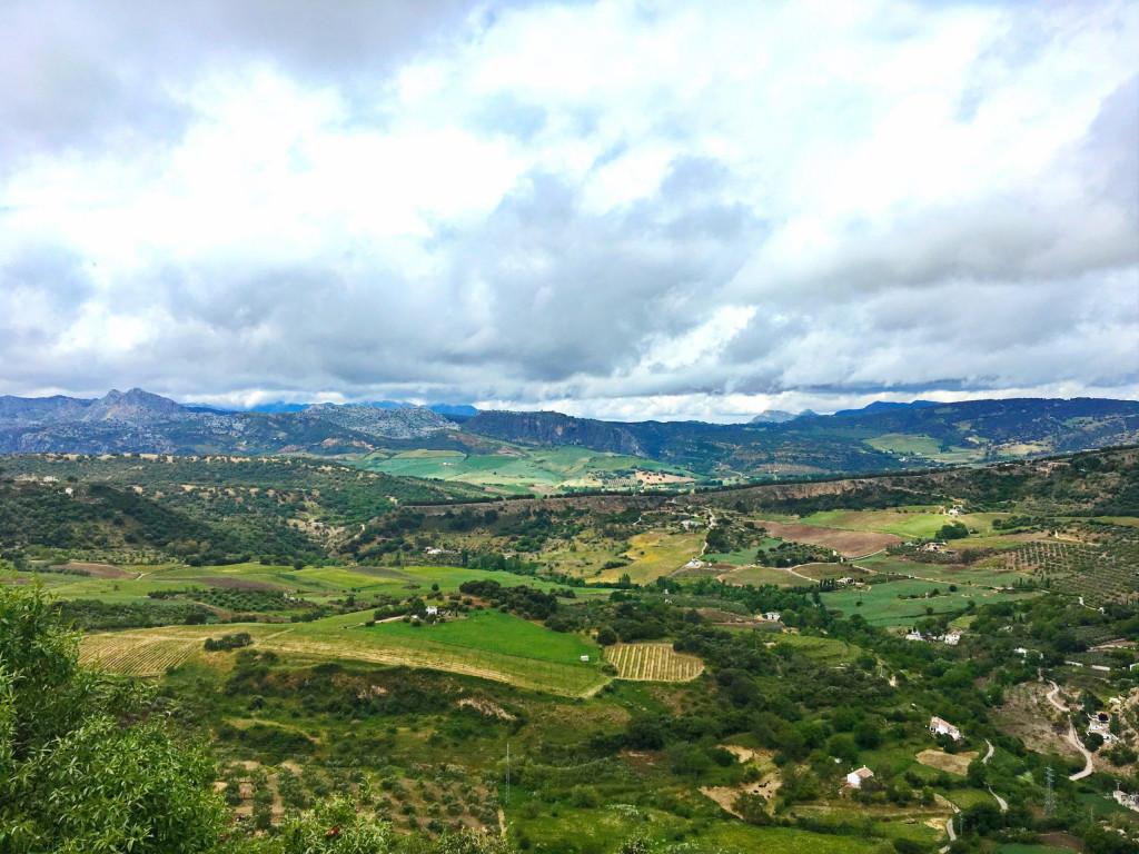 Blick auf Rondas Hinterland