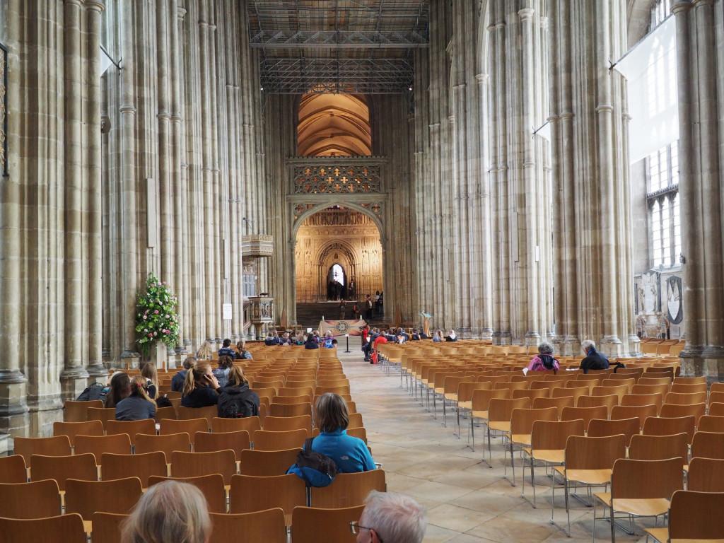 Hauptschiff der Kathedrale