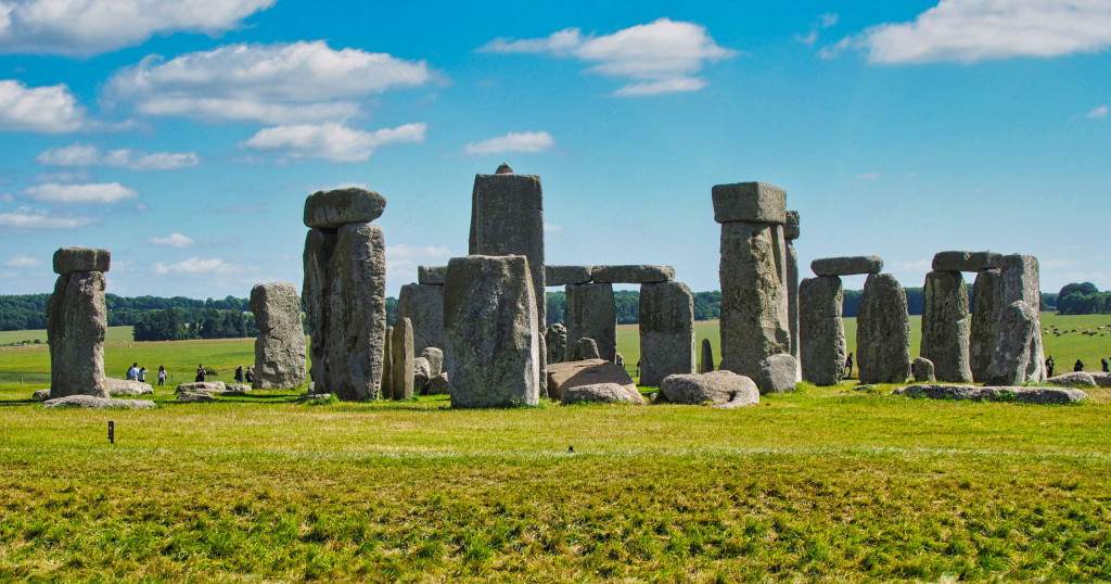 Ausschnitt Stonehenge