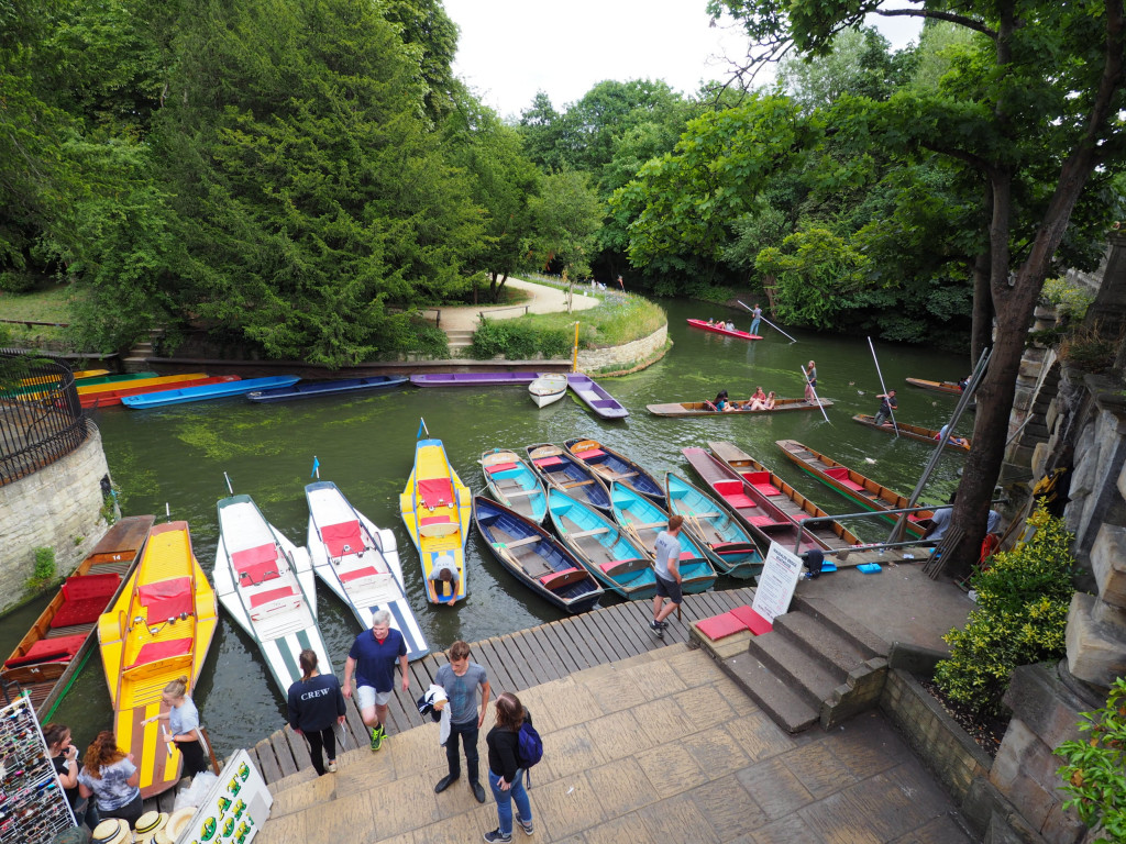 Oxford Punting, wichtiges Ritual bei Studenten