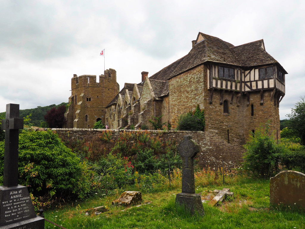 Stokesay Castle , Nähe Ludlow