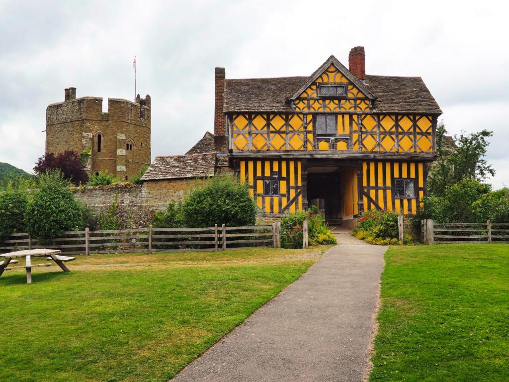 Eingangtor von Stokesay Castle