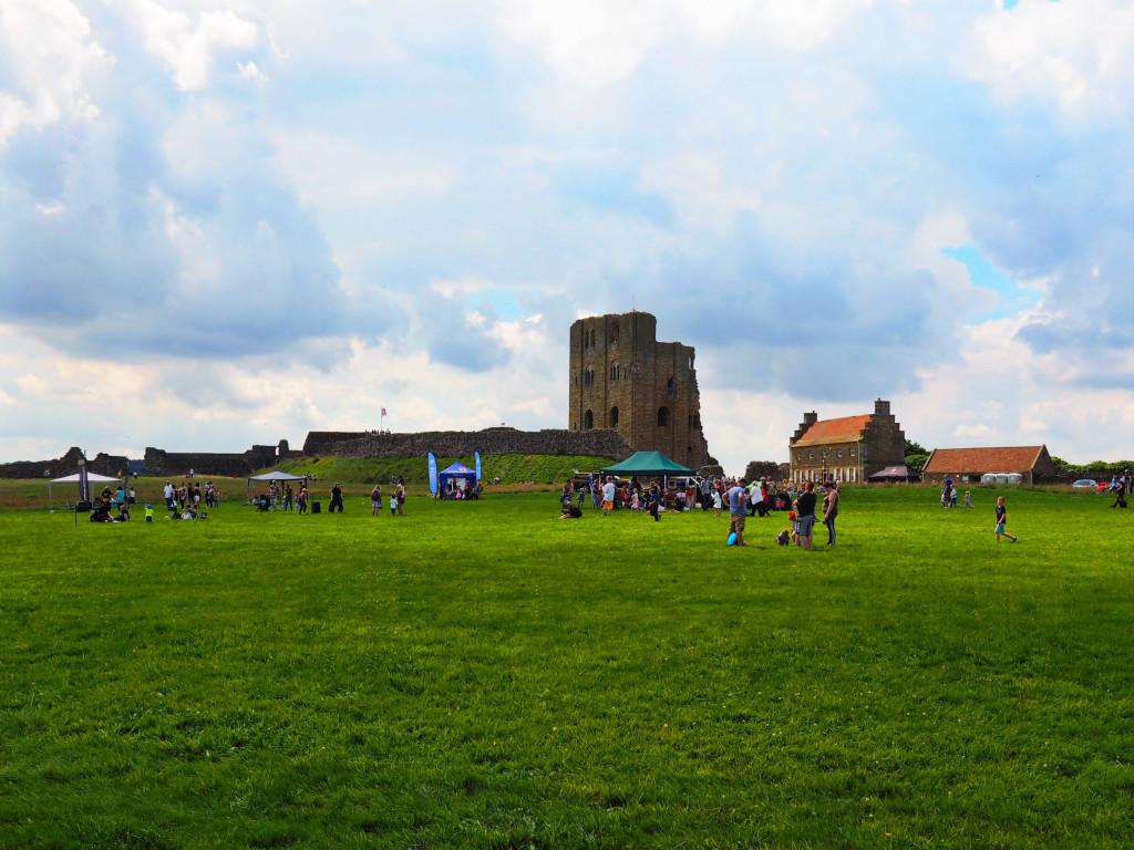 Headlands von Scarborough Castle