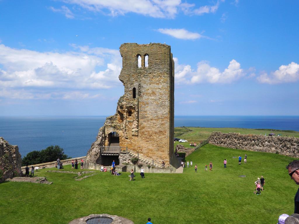 Bergfried von Scarborough Castle