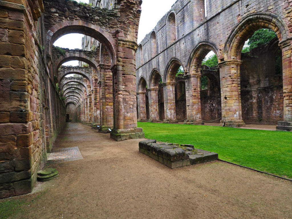 Klosterkirche in Fountains Abbey