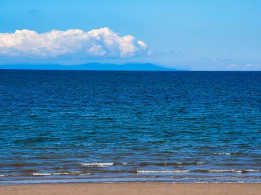 """Irische See mit der Insel """"Isle of Man"""""""