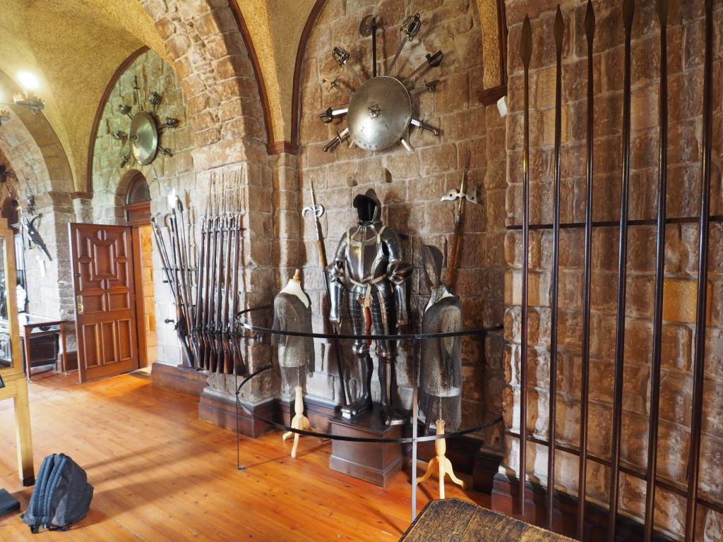 Rittersaal im Bamburgh Castle