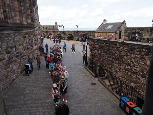 Andrang bei den schottischen Kronjuwelen