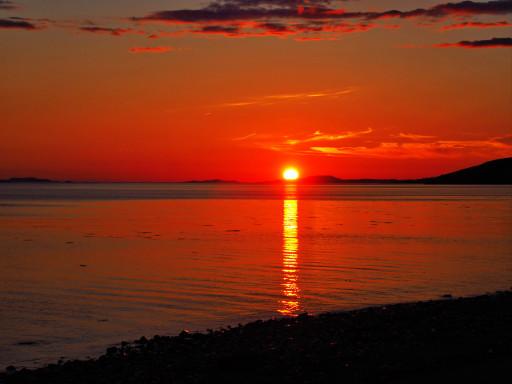 Sonnenuntergang in Ullapool