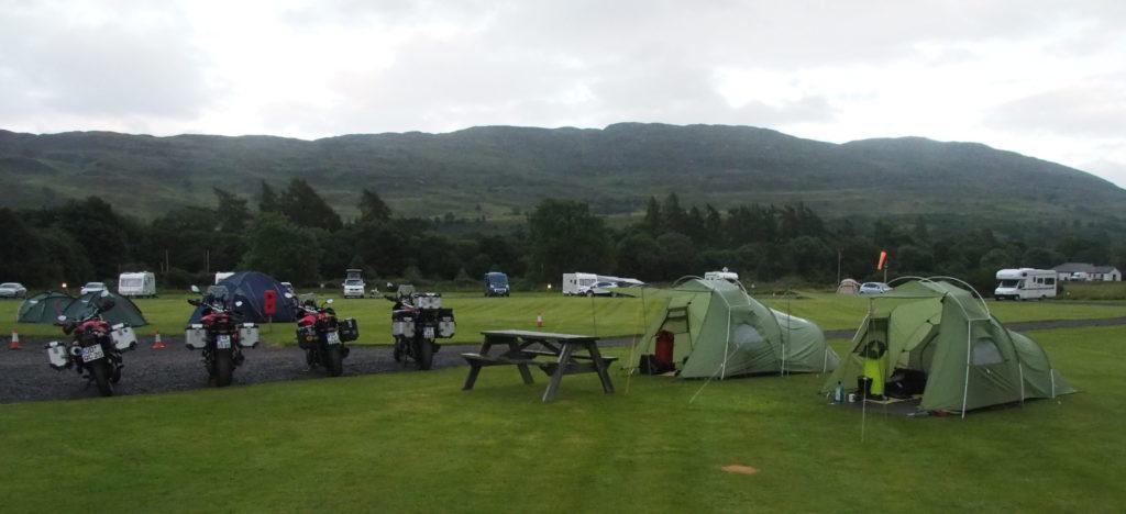 Cumberlands Campsite Loch Ness in Fort Augustus