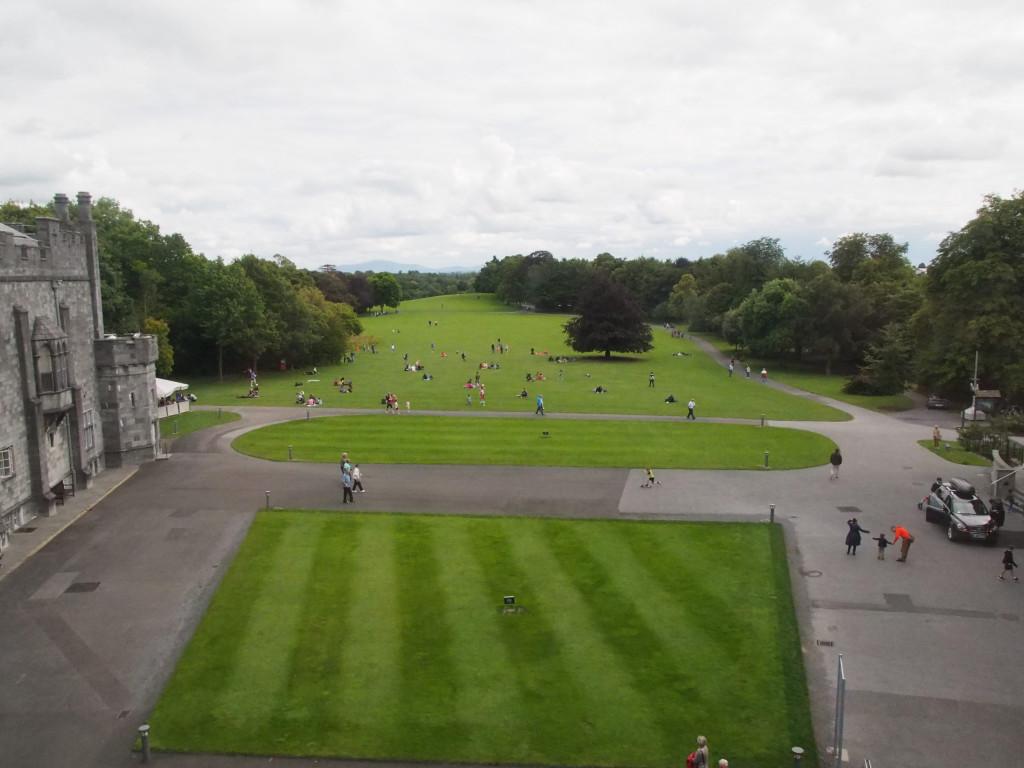 Parkanlage im Kilkenny Castle
