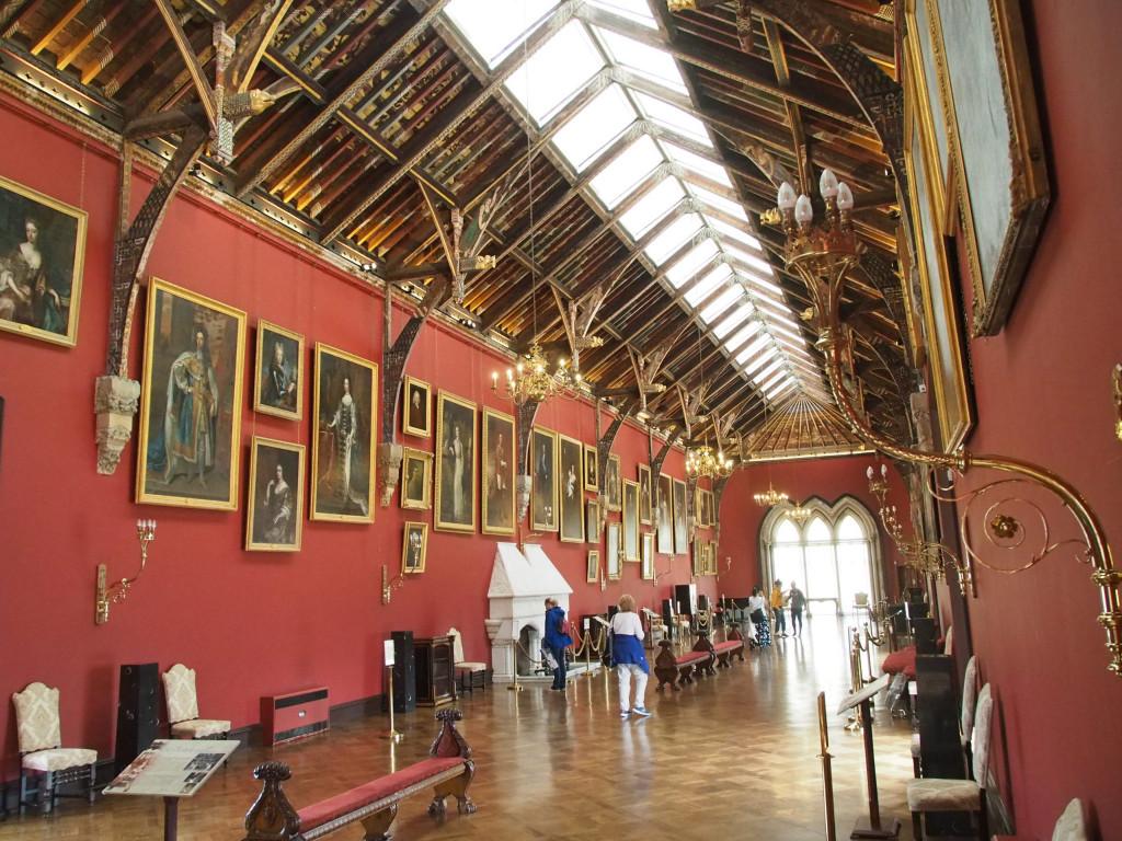 Prunksaal im Kilkenny Castle