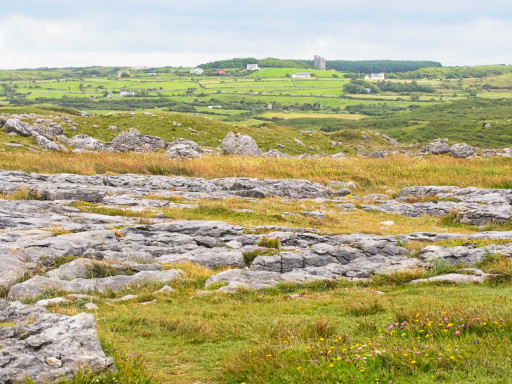 Landschaft in der Nähe von Doolin
