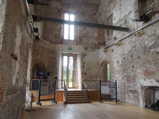"""""""Innenleben"""" von Lulworth Castle"""