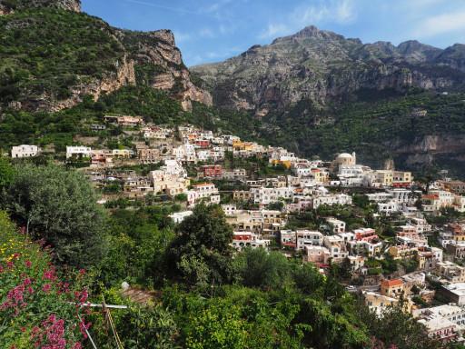 Positano an der Amalfi-Küste