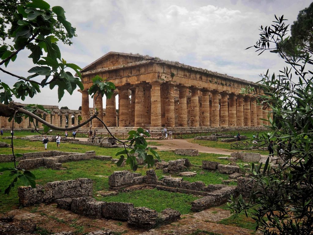 Poseidon-Tempel in Paestum