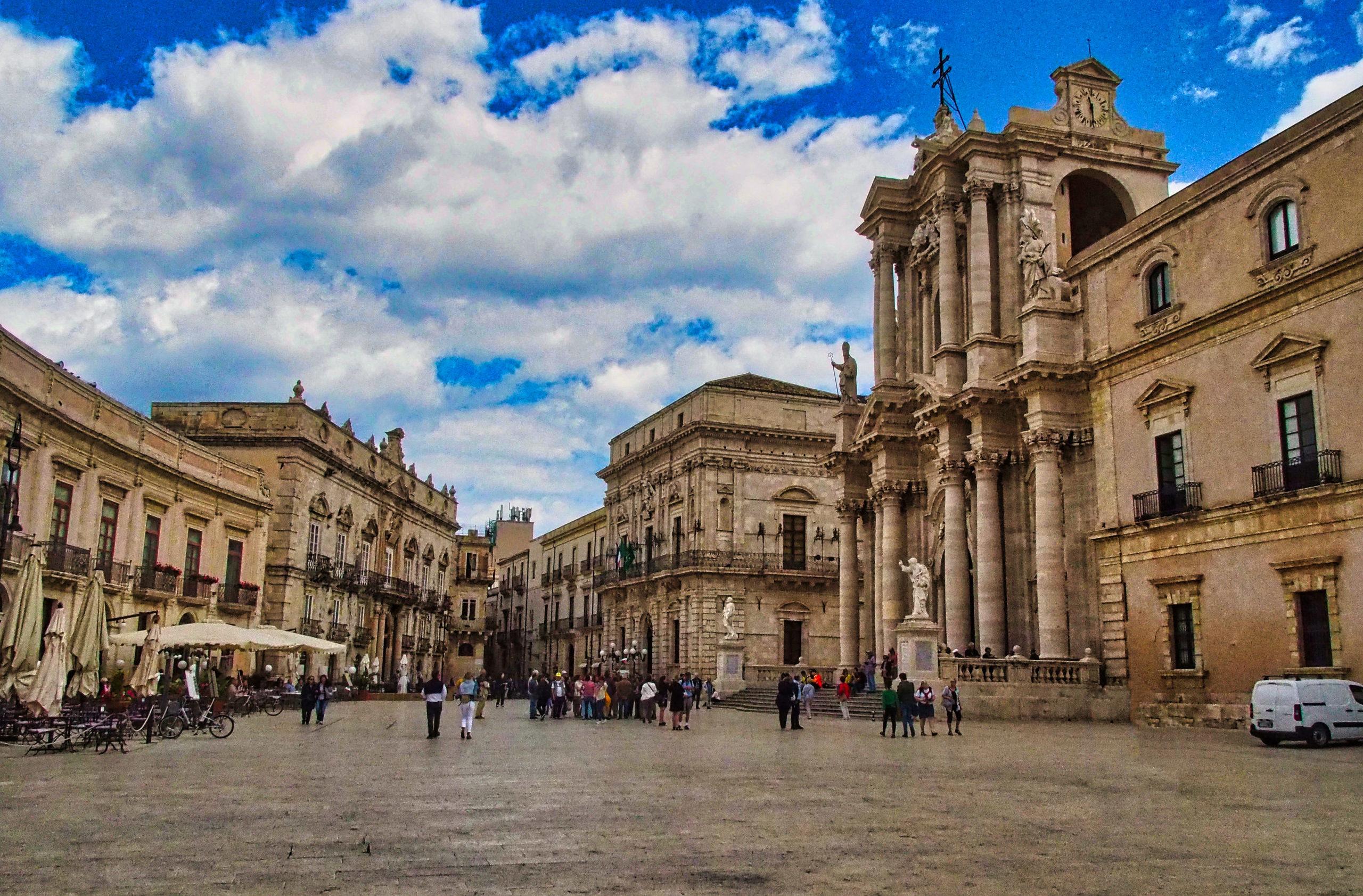 Piazza del Duomo von Syrakus