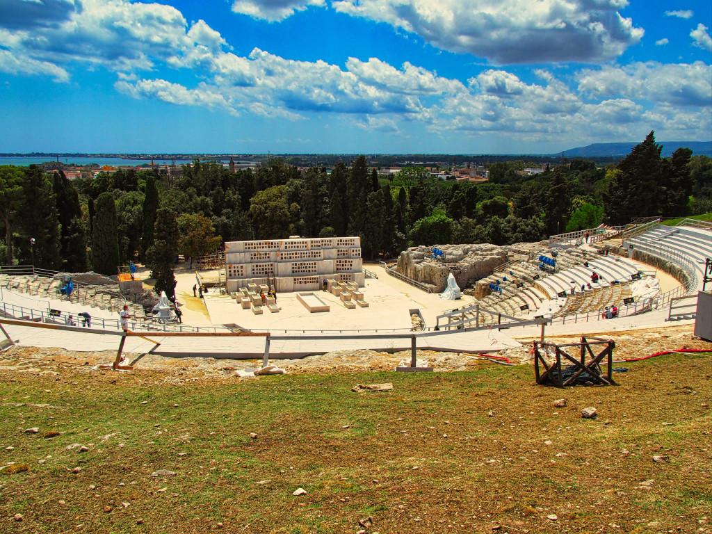 Teatro Greco im Archäologie-Park von Syrakus