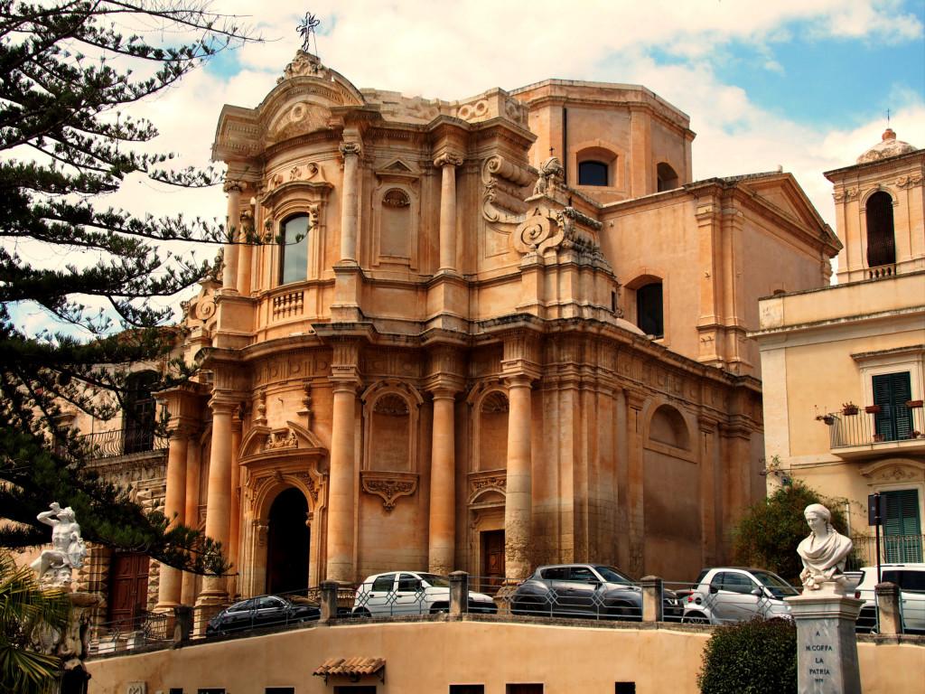 Chiesa di San Domenico, wohl die schönste Barock-Kirche in Noto