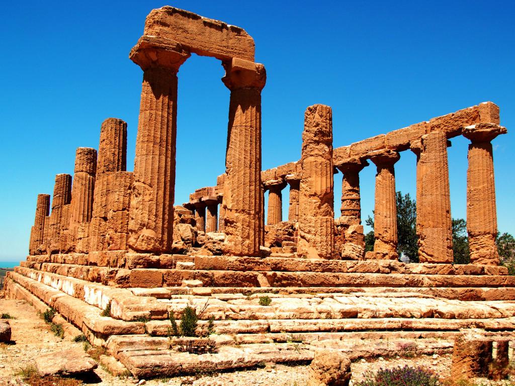 Tempel der Göttin Hera