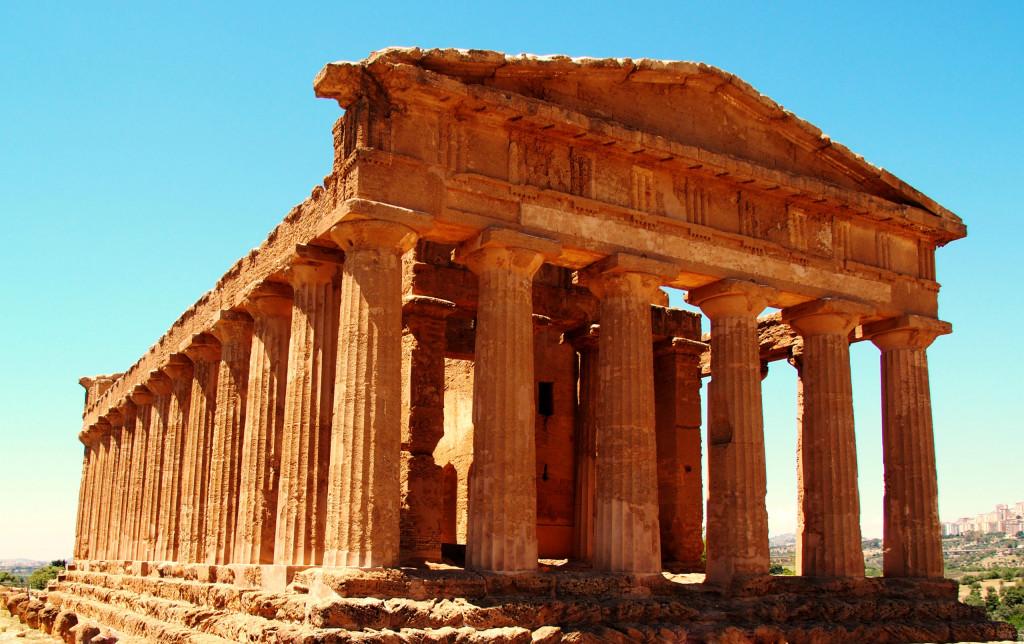Concordia Tempel – best erhaltener Tempel der Anlage