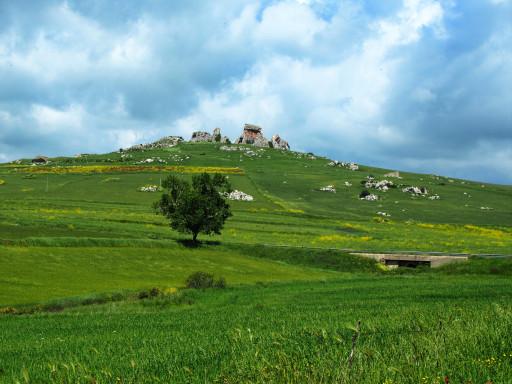 Landschaft in der Region um Corleone