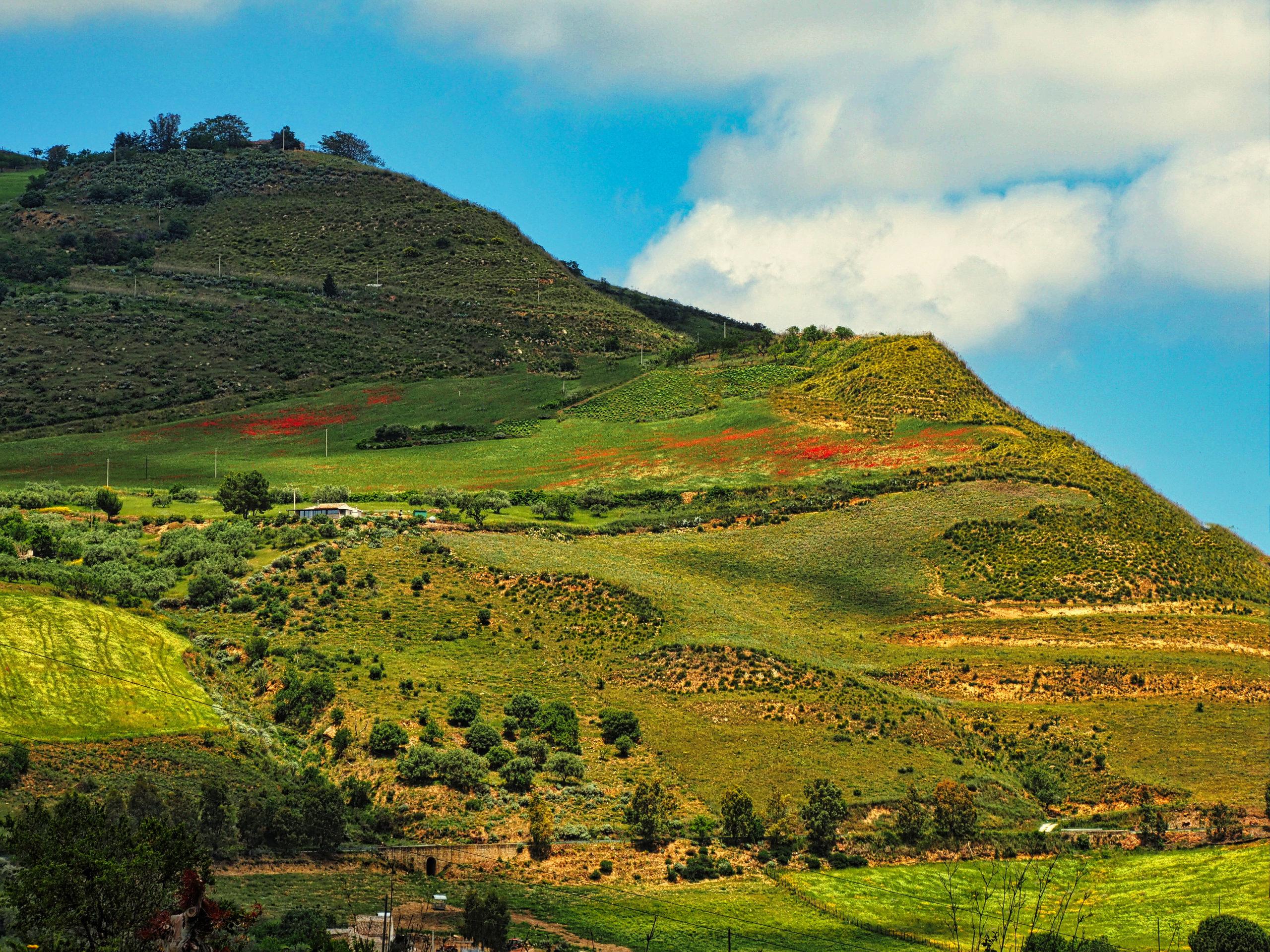 Landschaft nahe Caccamo