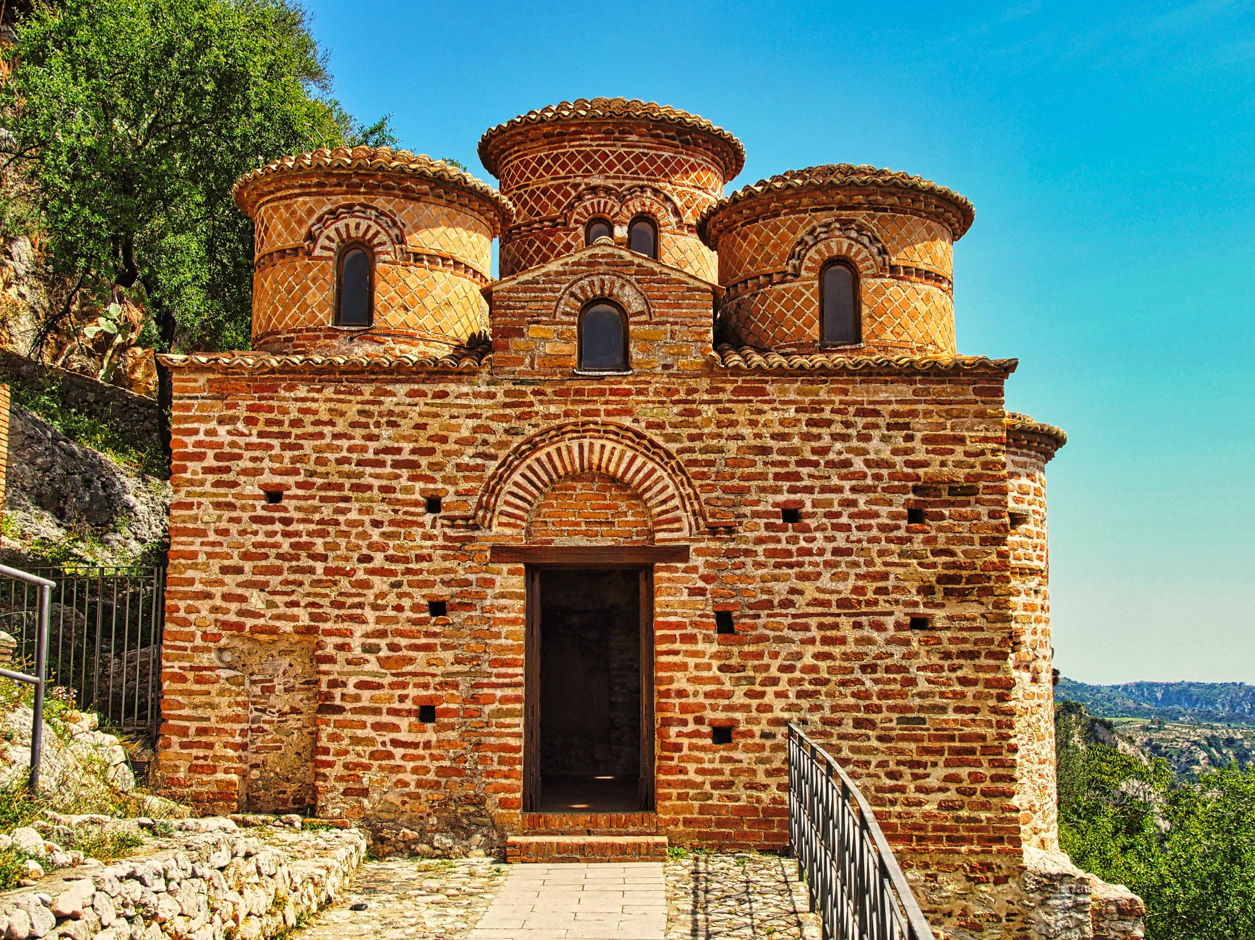 Cattolica di Stilo, byzantinische Kirche aus dem 10.Jahrh.
