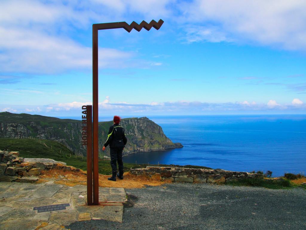 Picture Point am Horn Head mit Blick auf die Sheephaven Bay