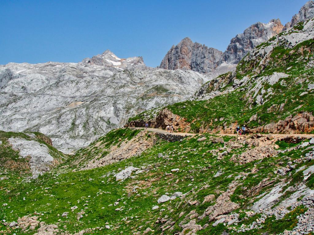 Ab in die Berge von Fuente Dé