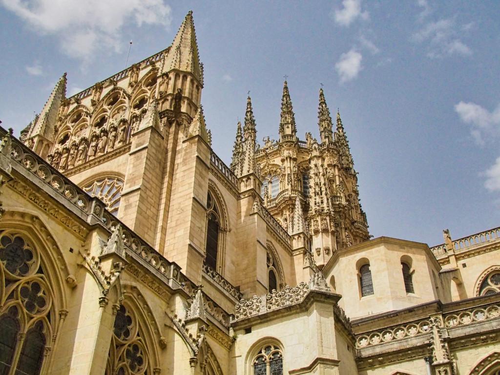 Einer der Haupttürme der Kathedrale