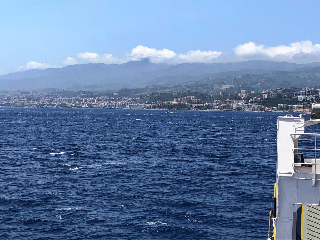 Überfahrt nach Messina