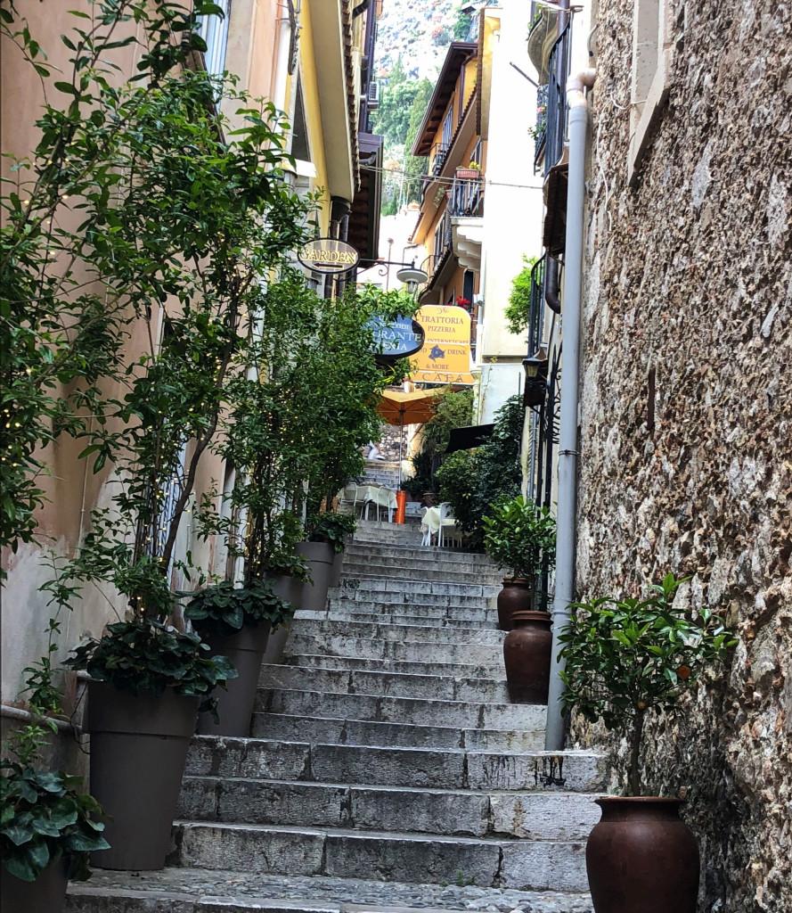 Gasse am Corso Umberto