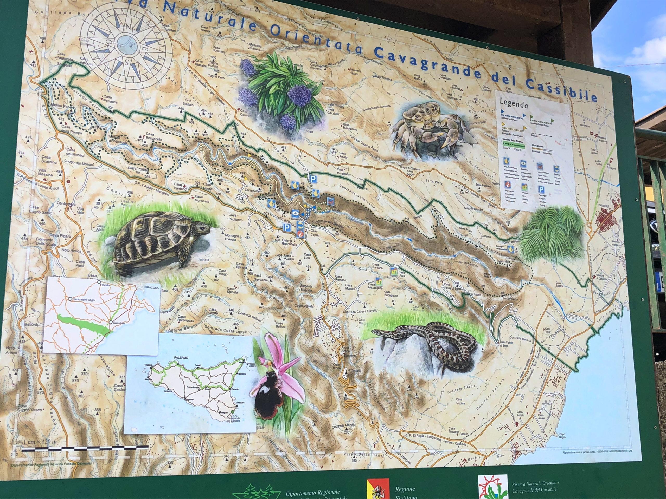 Naturschutzgebiet Cavagrande del Cassibile